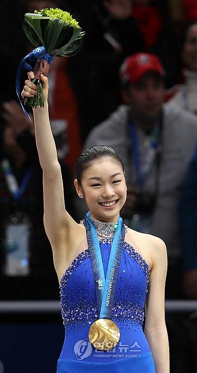 Congratulations to gold medalist Kim Yuna