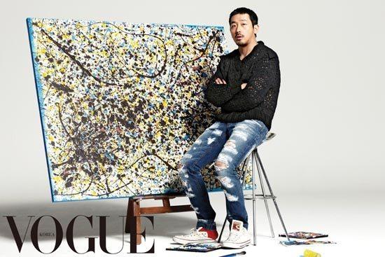 Ha Jung-woo reveals his artwork
