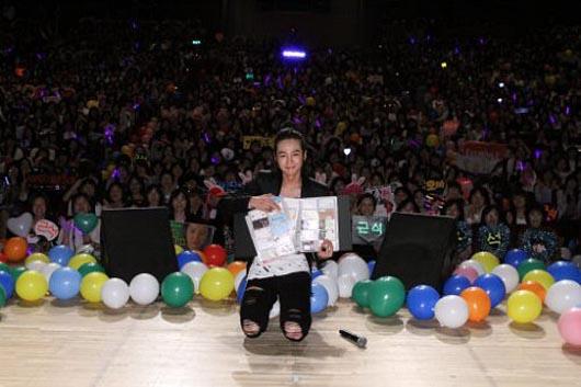 Jang Geun-seok wraps up Asian tour in Japan