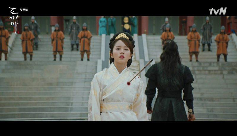 The Lonely Shining Goblin Episode 1 Dramabeans Korean Drama Recaps
