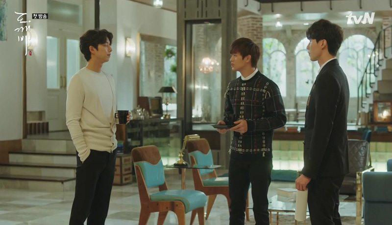 The Lonely Shining Goblin: Episode 1 » Dramabeans Korean drama recaps