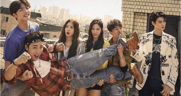 Carefree twentysomethings of idol variety-drama The Best Hit