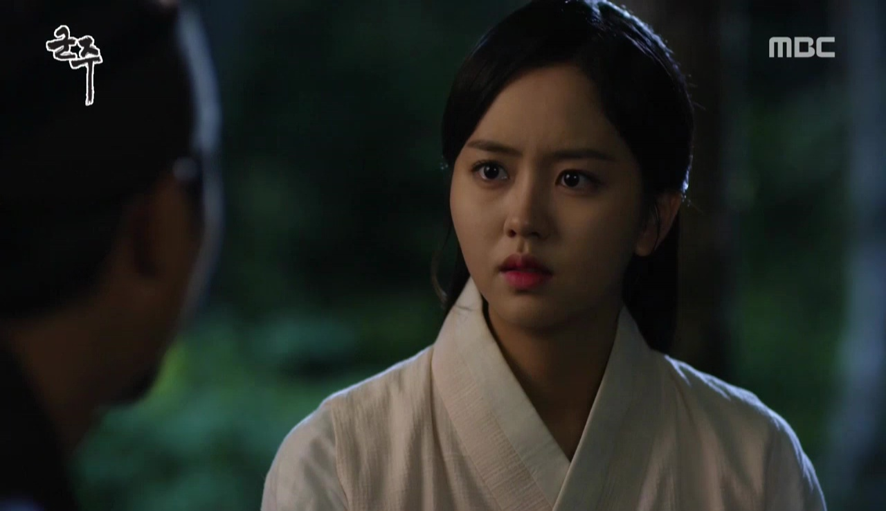 Mask episode 11 2015 - At Pyunsoohwe Hwa Goon Confronts Dae Mok About His Attempt On Sun S Life Confessing That She Loves Him She Demands That Dae Mok Leave Sun Alone If You