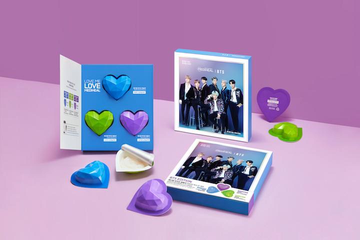 "[Winners] BTS Limited Edition Bio Capsulin ""Love Me"" mask sets"