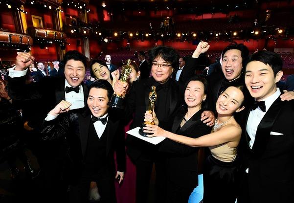Bong Joon-ho makes history with Parasite (again) at the Oscars