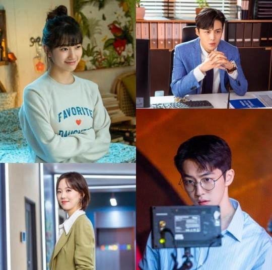 Nam Joo-hyuk, Suzy, Kim Sun-ho, and Kang Hanna in new character stills for tvN's Start-Up