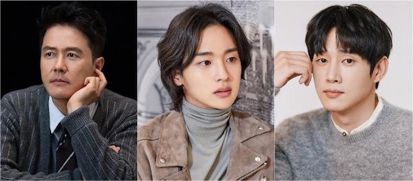 Kam Woo-sung, Jang Dong-yoon, Park Sung-hoon cast in new SBS drama