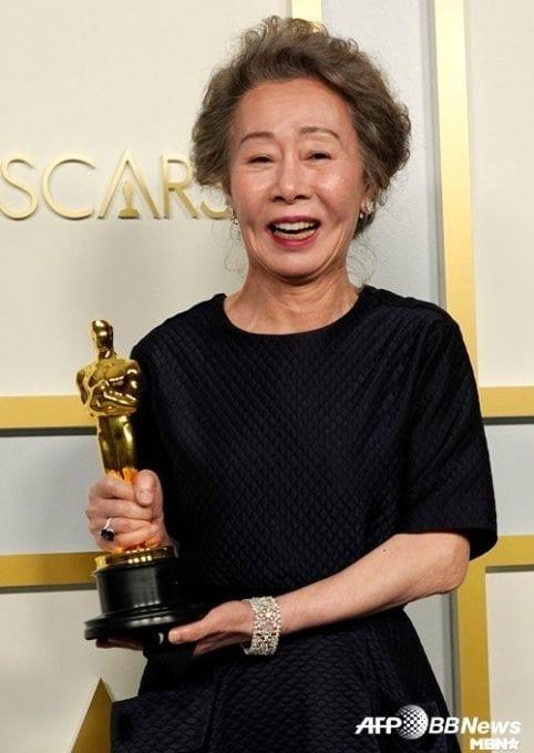 Yoon Yeo-jung makes history, wins first Oscar for Minari